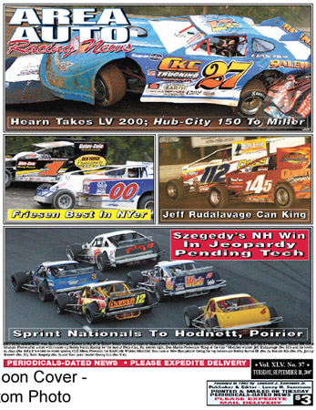 Area Auto Racing News on Area Auto Racing News Cover Photo By Cliff Moon  Bottom